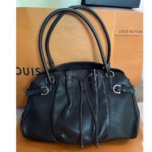 Salvatore Ferragamo Brown Leather Handbag